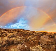 Sunrise Rainbow by SB  Sullivan
