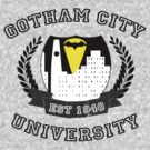 Gotham City University by ScottW93