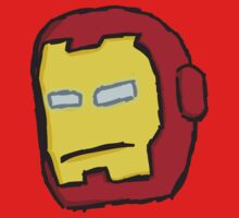 Iron Man - Sketched Kids Clothes