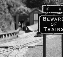 Beware of Trains by Streekie