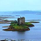 Castle Stalker Appin Argyll Scotland by youmeus
