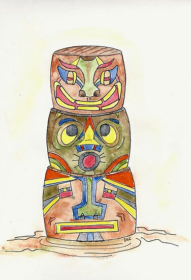 Totem Pole by Deb Coats