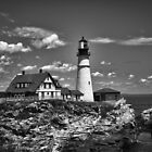 Portland Head Light by Anthony M. Davis