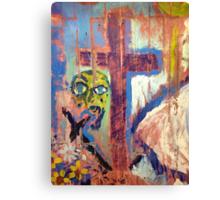 FaCe & CrOsS Canvas Print