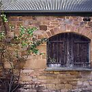 Stable wall by Jan Pudney