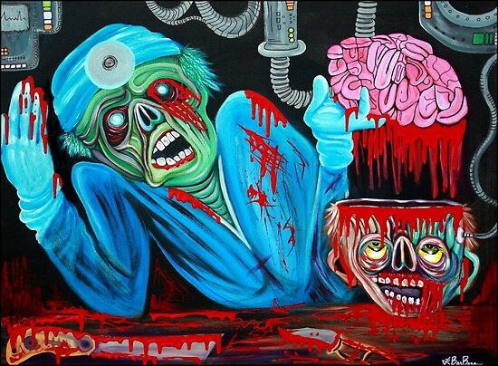 Zombie Brain Surgeon by Laura Barbosa