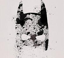 IPHONE CASE -  BATMAN (PAINTED) by beauvoire