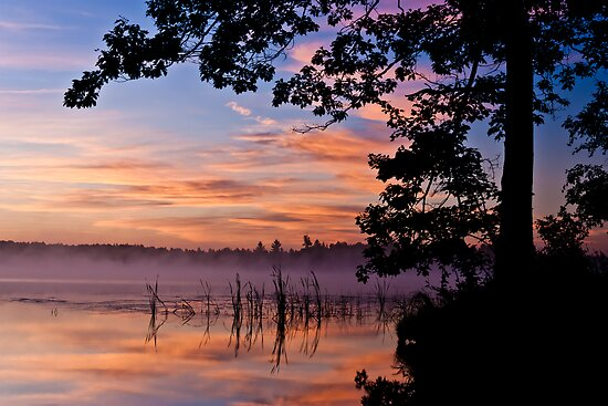 Sheriff Lake Sunrise by April Koehler