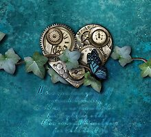 Heartstone Steampunk iPhone4 by Melanie Moor