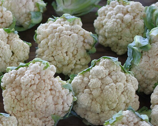 Cauliflower by Tom  Reynen