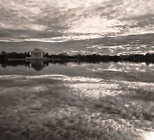 Potomac Tidal Basin, Washington D.C. by strangelight