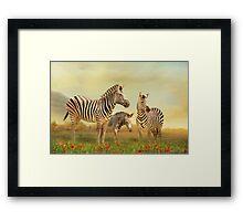 Family Ties Framed Print