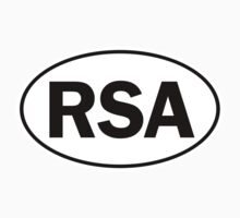 RSA - Oval Identity Sign by Ovals