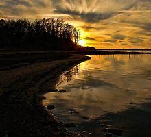 Silent Sunset by Carolyn  Fletcher