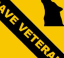 89th Hardcore Division - Rave Veteran Sticker