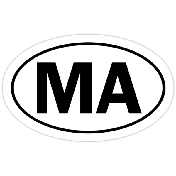 MA - Oval Identity Sign by Ovals