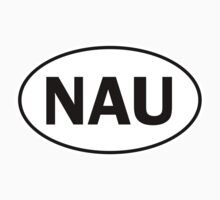 NAU - Oval Identity Sign by Ovals