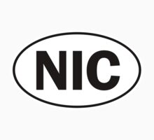NIC - Oval Identity Sign by Ovals