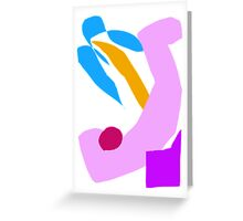 Relax and Read a Book in a Summer Breeze Greeting Card