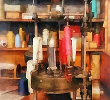 Supplies in Tailor Shop by Susan Savad