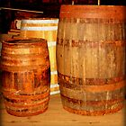 Old Ship Barrels  by Amanda Vontobel Photography