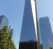 Freedom Tower (mid construction) by lilyisabelle