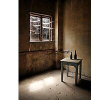 Cobwebs at the Window Photographic Print