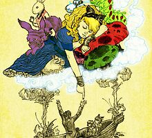 Dreaming Alice in Color by Kevin Steele