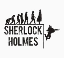 Sherlock Holmes the evolution of man by TopsFantasy