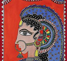 Lady in Ornaments by Shakhenabat Kasana