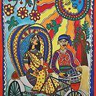 A Journey by Rickshaw by Shakhenabat Kasana