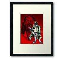 The Vampire Lebowski Framed Print