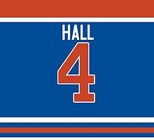 Oilers Taylor Hall Jersey by jdsmdlo
