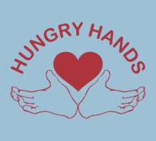 Hungry Hands by waywardtees