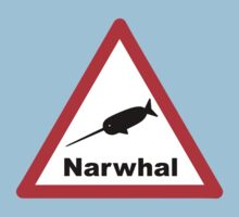 Warning Narwhal by Buddhuu