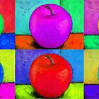 Rainbow Apple by April Spadina