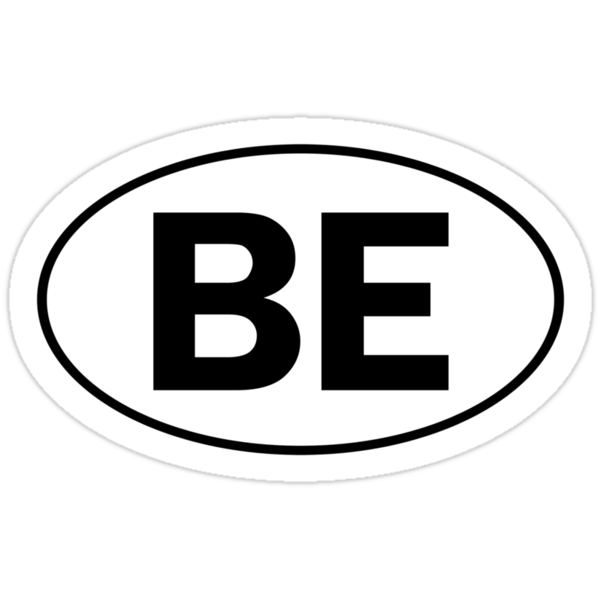 BE - Oval Identity Sign by Ovals