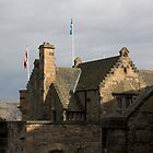 Structure of Edinburgh Castle - inside by ashishagarwal74