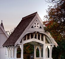The Lych Gate at Saint Augustine's by Christine Smith