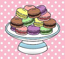 Macarons  by jadeboylan