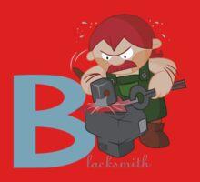 b for blacksmith Kids Clothes