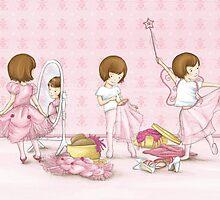 I believe in Pink ~ Audrey Hepburn by Amanda Francey