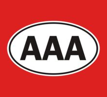 AAA - Oval Identity Sign by Ovals