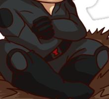 Nested Black Widow Sticker