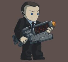 Badass Coulson by Sara Machajewski