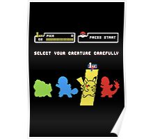 Choose Your Creature... Poster