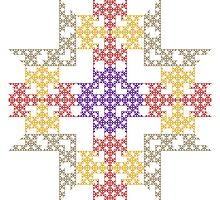 Chaotic Floorplan by Ross Hilbert