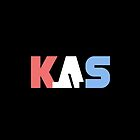 K.A.S Wide Logo Phone Cover - Black by K. A .S