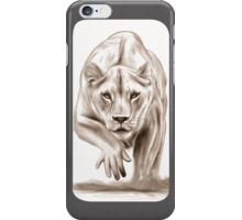 Hunting gently colorless iPhone Case/Skin