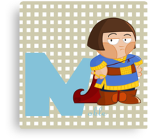 n for noble Canvas Print